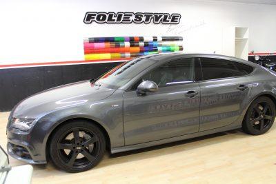 bodyfence foliering car wrapping grå